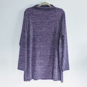 NWT Lands End heathered tunic